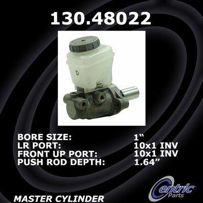 Centric 130.48022 Brake Master Cylinder