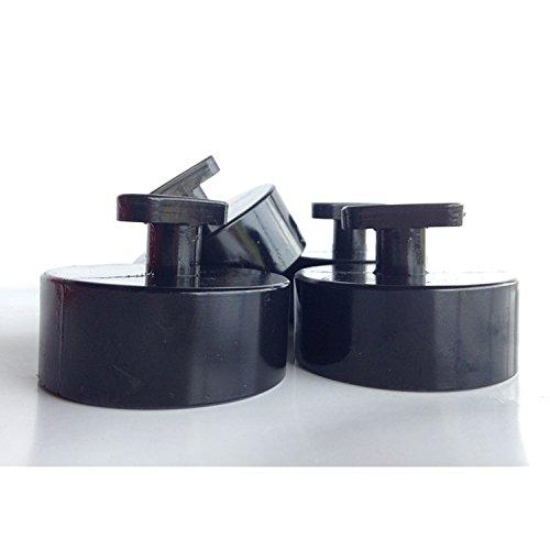 Aurora Instruments 4507 Pinstripe II White SAE 6-Gauge Set with Emblem Black Modern Needles, Chrome Trim Rings, Style Kit DIY Install