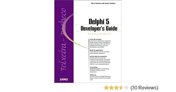 Delphi 5 Developer's Guide (Developer's Guide): Steve