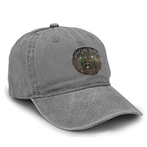 - Black Label Society Unisex Baseball Cap Plain Cotton Adjustable Washed Cap Deep Heather