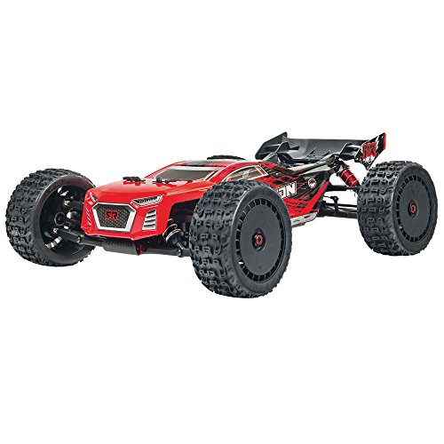 Rear Truggy Wing (ARRMA Talion Blx Brushless 4WD Rtr Electric Radio Control RC Truggy (Lipo Batteries Required), Red and Black, 1:8 Scale)