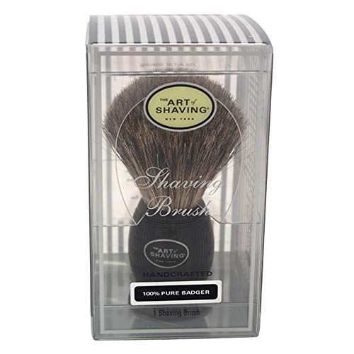 The Art Of Shaving Taos Shave/Brush Pure Badger, Black, 0.58 lb. ()