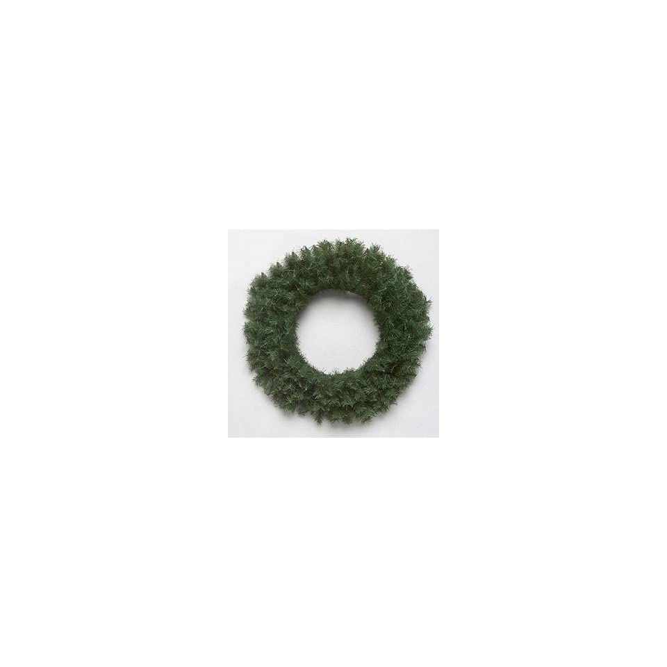 Pack of 6 Canadian Pine Artificial Christmas Wreaths 16   Unlit