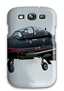 Tpu Case Cover For Galaxy S3 Strong Protect Case - Beechcraft T-6 Texan Ii Design