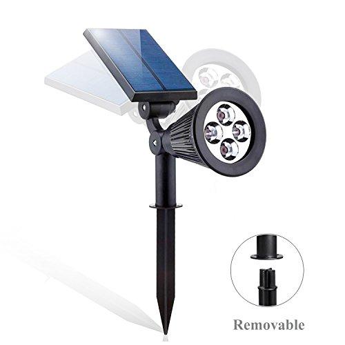 Outdoor LED Solar Spotlights, Lonwing Waterproof Solar Spotl