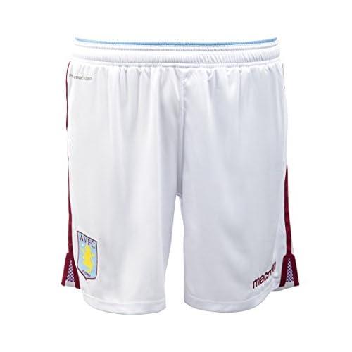 Cheap 2015-2016 Aston Villa Home Football Shorts (Kids)