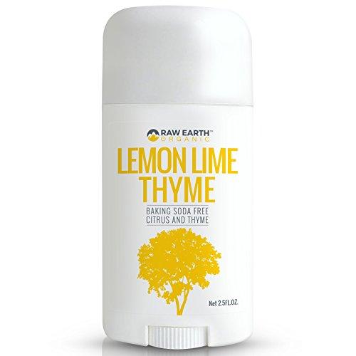 Raw Earth Organic All Natural Vegan Magnesium Deodorant - Baking Soda & Aluminum Free - Lemon / Lime / Thyme (2.5oz) by Raw Earth Organic (Image #6)