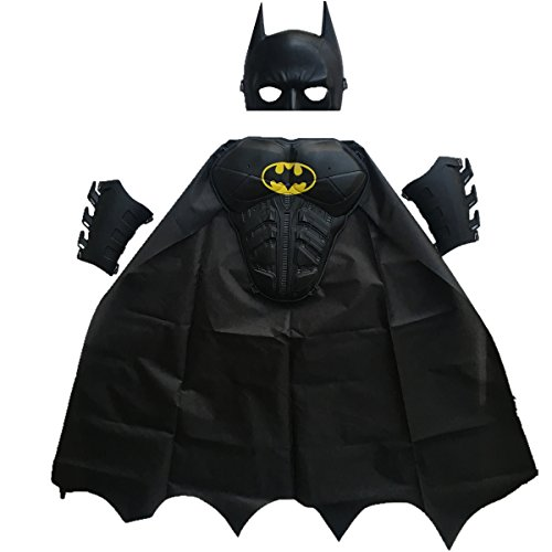 BBVESTIDO Batman Halloween Costume (3-8T, for height 90-120cm)