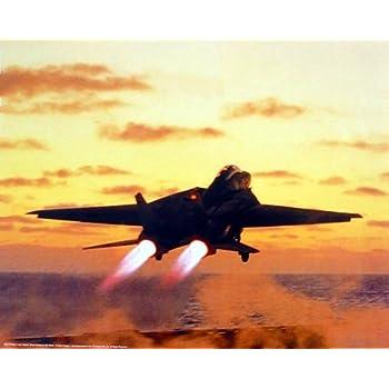 US Navy M F Winter F-14D Tomcat Jet Aircraft Aviation Art Print Poster (16x20)