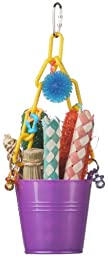 Super Bird Creations Foraging Pail Toy for Birds