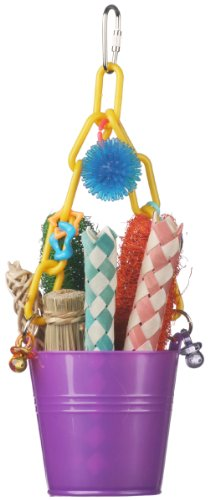 Pail Chain - Super Bird Creations Foraging Pail Toy for Birds
