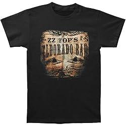ZZ Top Men's El Dorado Bar 2012 Tour T-shirt X-Large Black