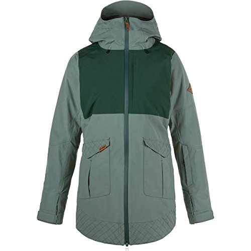 Dakine Women's Silcox Gore-Tex 2 Layer Jacket, Balsam Green,