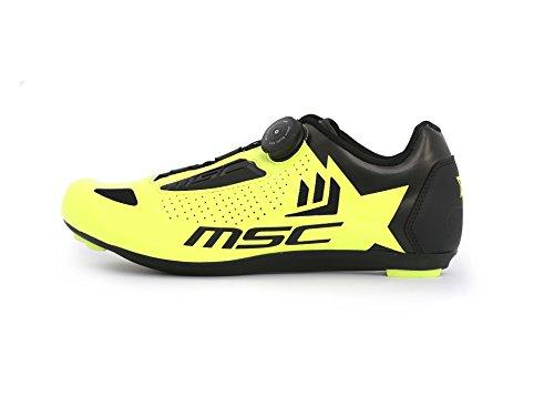 Chaussures de cyclisme Road Bikes MSC T 38 Jaune Aero ww7Tq