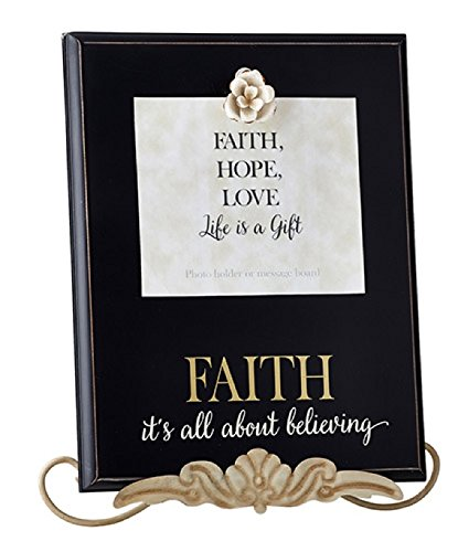 Heartfelt Collection Grace Remembered Clipboard Plaque, Faith by CB Gift