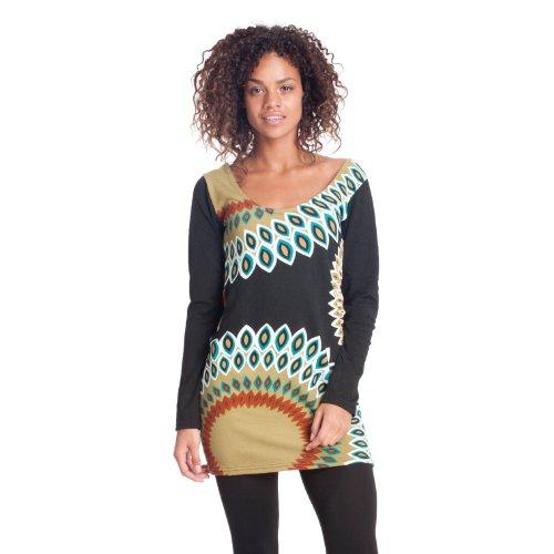 Superstition - Vestido - para mujer black-olive