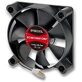 Evercool EC6015SH12BP 60mm x 15mm Hi-Speed Dual Ball Bearing PWM 4 Pin Fan