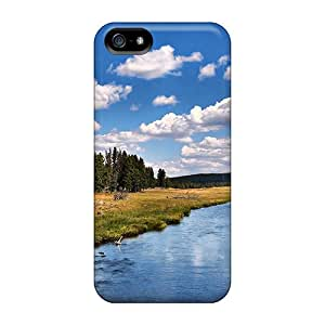 Cute Tpu KellyMeeks Cycling In Nature Case Cover For Iphone 5/5s