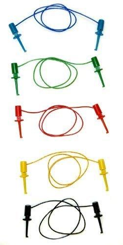 Science Purchase 05ALS7 Minigrabber to Minigrabber, 5 piece IC Test Lead Set