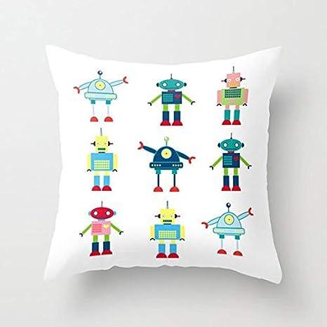 Amazon.com: UTF4C - Almohada para robots (funda de almohada ...