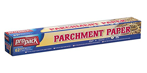 Silicone Coated Parchment Paper (Propack Non Stick Parchment Baking Paper 15x50 Pack Of 1)