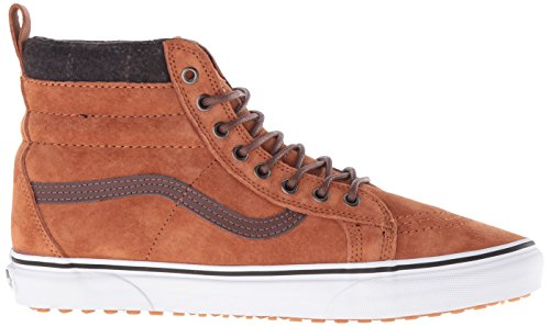 Vans Mens SK8-Hi MTE Trainers, Brown Brown