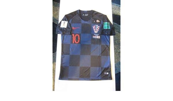 competitive price f3274 2d853 Amazon.com : DRI FIT Luka Modric #10 Croatia HNS Hrvatska ...