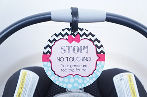 Baby Do Not Touch Stroller Signs - 3