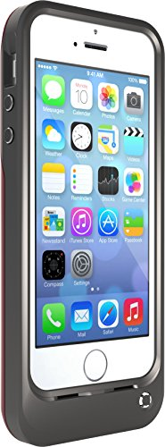 OtterBox Resurgence Power/Battery Case for Apple iPhone 5s / 5SE - Retail Packaging - Satin Rose Grey/Blaze Pink