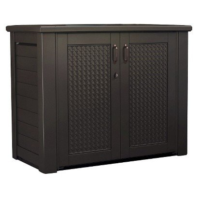 - Rubbermaid Patio Chic Cabinet