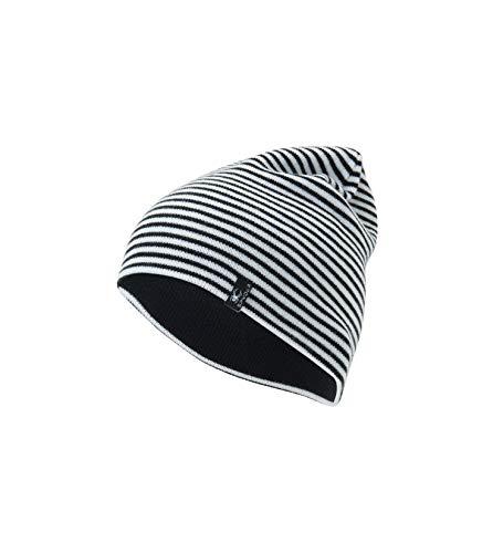 - Spyder Women's Flux Reversible Hat, Black/White, One Size