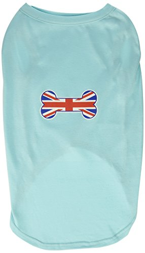 Mirage Pet Products 20-Inch Bone Shaped United Kingdom Union Jack Flag Screen Print Shirts for Pets, 3X-Large, -