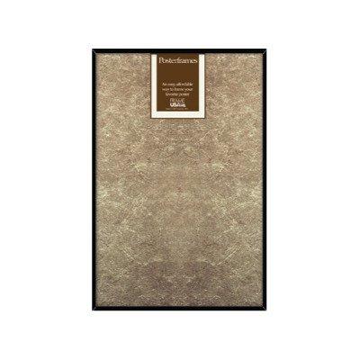 Frame USA Hardboard Posterframe Frames, 11.75 x 36'', Black by Frame USA