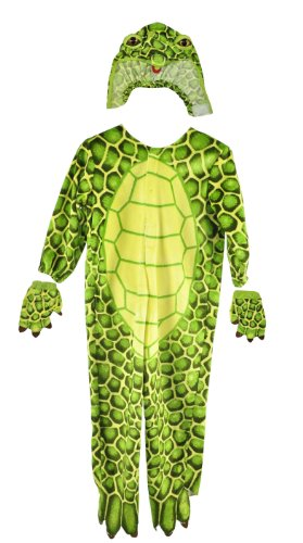Simplicity Kid's Green Turtle Jammies Style (Turtle Mascot Costume)