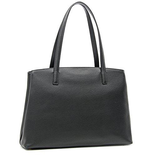 Braccialini , Damen Schultertasche Schwarz schwarz h28x37x12cm