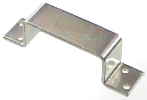 Holder Bar Zinc Open (The Hillman Group The Hillman Group 851360 Bar Holder Closed - Zinc Plated 1-Pack)