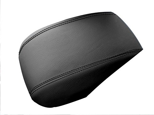 RedlineGoods leather/Alcantara armrest cover tailor-made for Volvo S40 2004-13