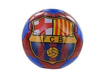 F.C. Barcelona escudo Blaugrana balón de fútbol (tamaño 5): Amazon ...