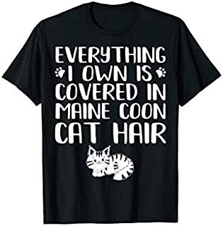 Maine Coon Cat  - Gifts For Maine Coon Cat Lovers Funny T-shirt | Size S - 5XL