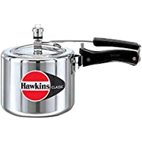 HAWKIN Classic CL3T 3-Liter New Improved Aluminum Pressure Cooker Small (Silver)