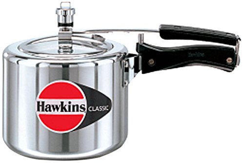 HAWKIN Classic CL3T 3-Liter New Improved Aluminum Pressure Cooker, Small, Silver by HAWKIN