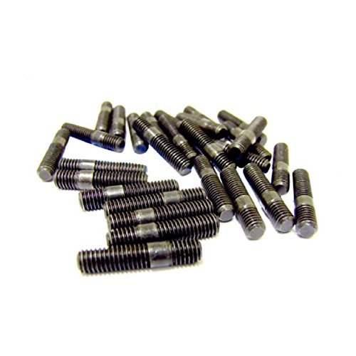 Smart home 8 x Exhaust Inlet Manifold Studs M10 x 1.5mm Pitch 14mm Length: 46mm//22mm 10mm