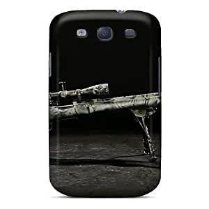 Dana Lindsey Mendez Scratch-free Phone Case For Galaxy S3- Retail Packaging - Rifle Military Sniper Weapons Sniper Rifle