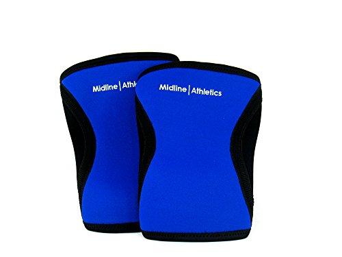 Midline Athletics Neoprene Knee Sleeves (XS to XL) - Olympic Sled