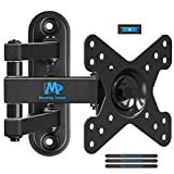 "Mounting Dream TV Wall Mount Bracket with Full Motion Articulating Arm (14"" Extension) for most of 10-26 Inches LED, LCD TVs and Monitors up to VESA 100x100mm and 33 lbs MD2463"