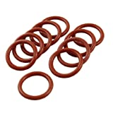 10 Pcs Industrial Silicone O Ring Seal Gasket 19mm x 25mm x 3mm