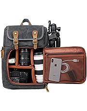 Camerarugzak, grote capaciteit, ritssluiting voor, waterdichte schokdemping, voor SLR-/DSLR-camera's, professionele cameratas voor onderweg