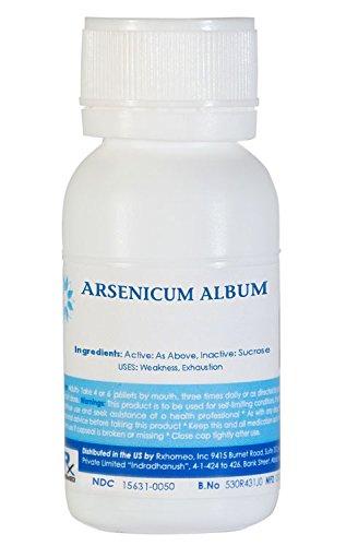 ARSENICUM ALBUM 200C - 750 Pellets (1Oz)