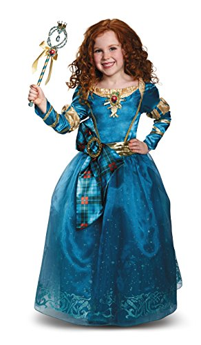 Merida Prestige Disney Princess Brave Disney/Pixar Costume, (Princess Brave Costume)