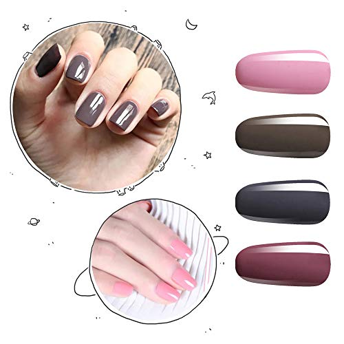 Vishine Nail Art Uv Led Lamp Gel Polish Long Lasting Manicure Kit 4 Colors Set C195 Buy Online